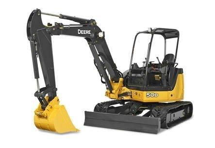 Redtail Rental - John Deere 50G Excavator Rentals